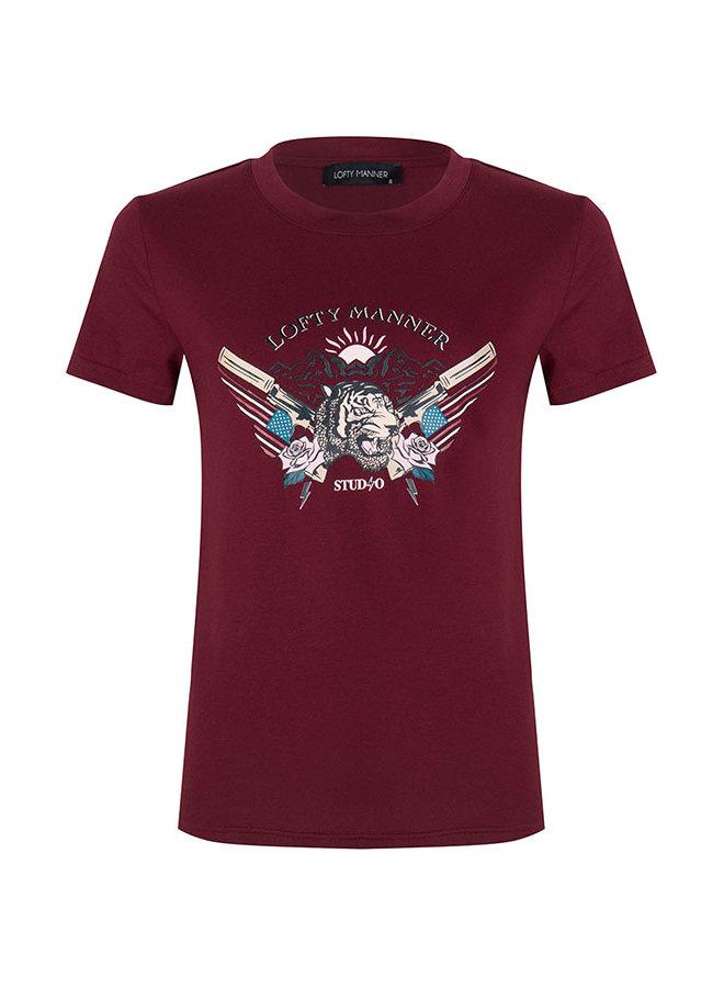 T-shirt Isaya Red