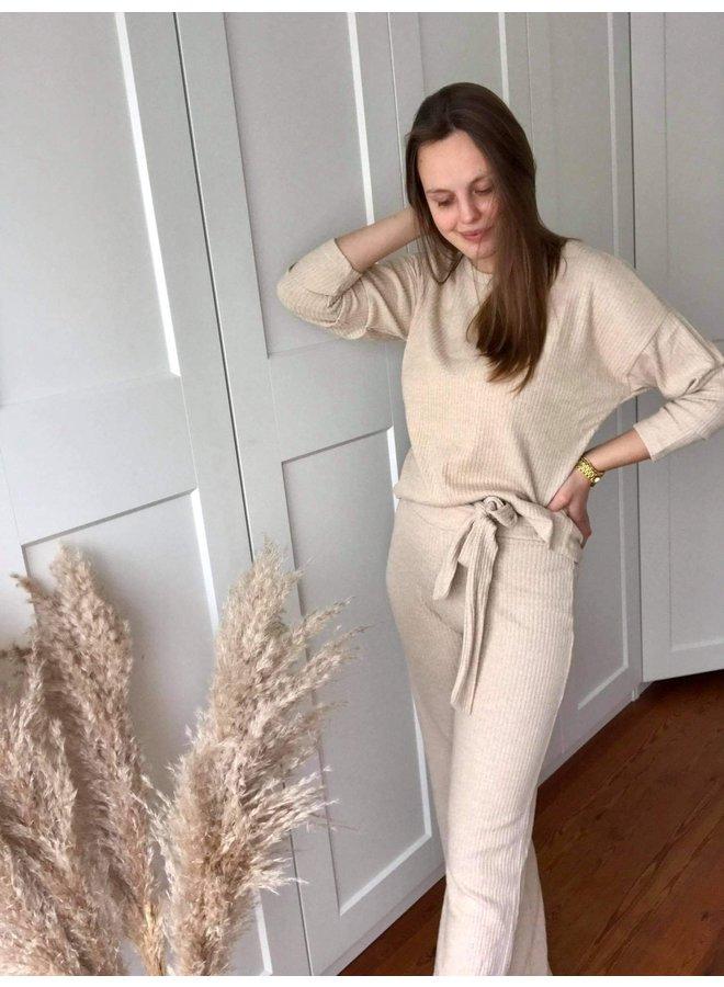 Homewear Top Beige