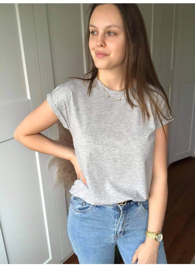 T-Shirt Ellen Grijs