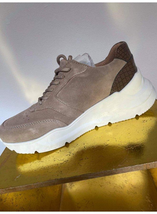 Sneakers Suède Croco