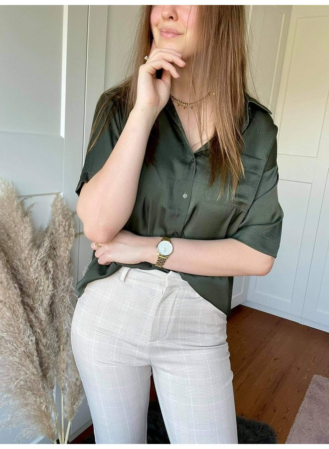 Maja Check Pant