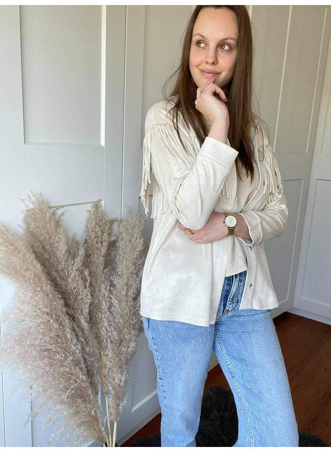 Stefanie Fringe Jacket