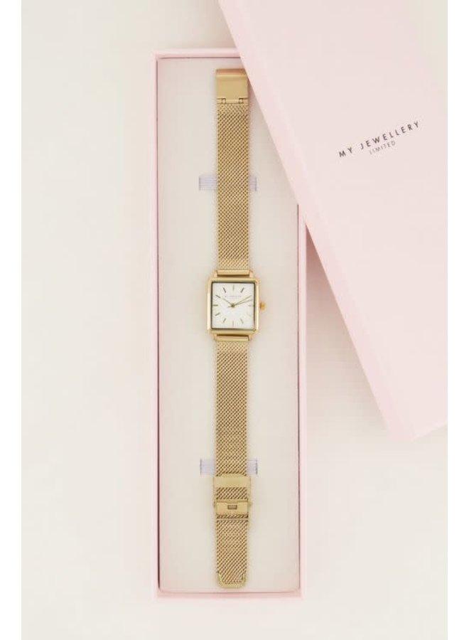Horloge Vierkante Wijzerplaat