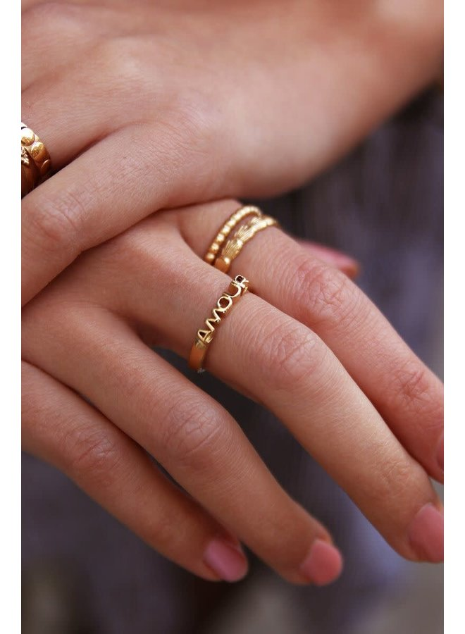 Ring Amour Goud