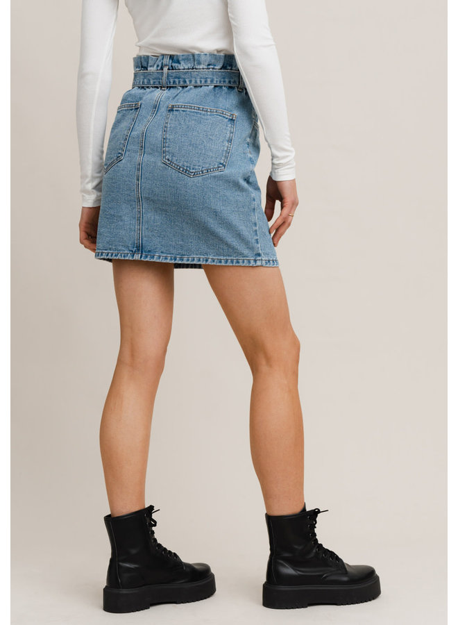 Daniella Paper Waist Skirt