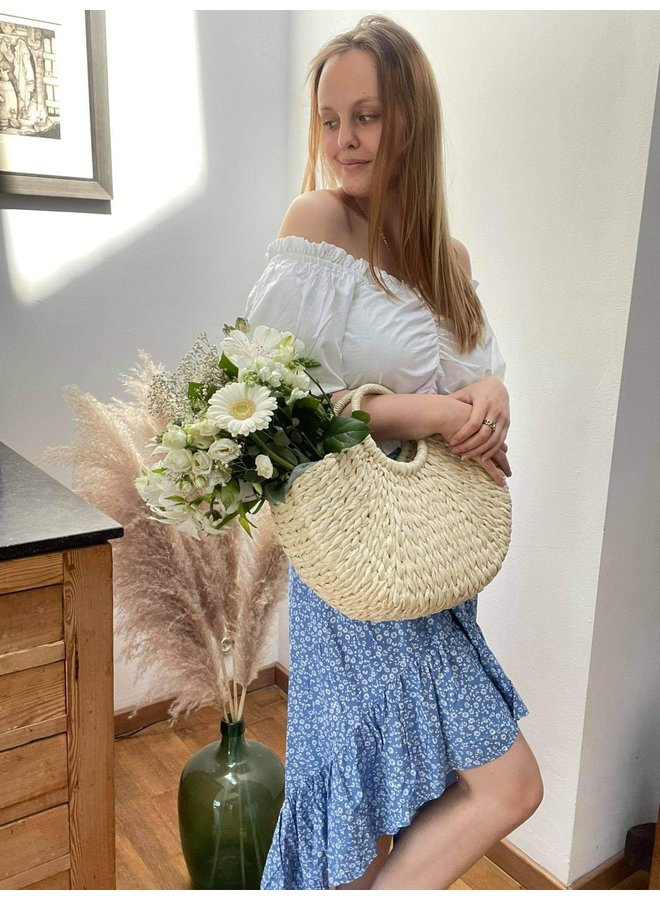 Rita Straw Bag
