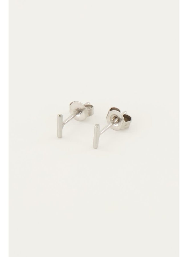 Studs Staafje Zilver