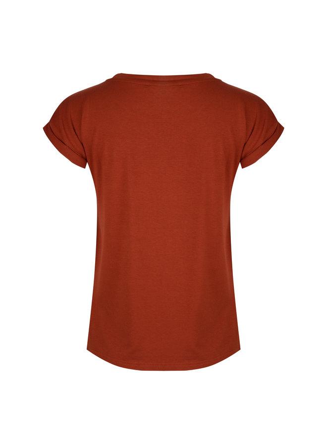 T-shirt Zoe Rust