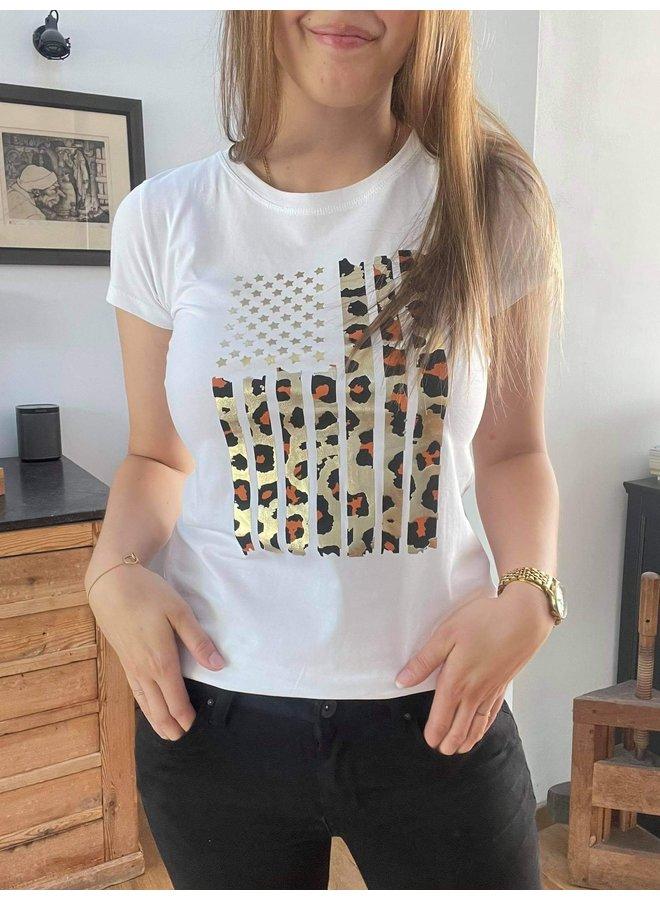 T-shirt Robin Wit