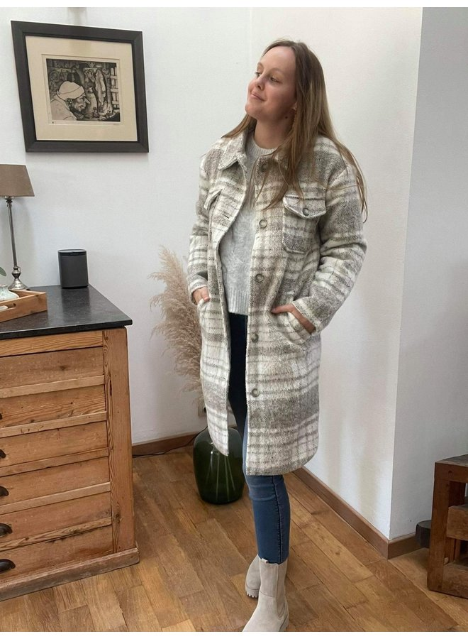 Becky Check Coat