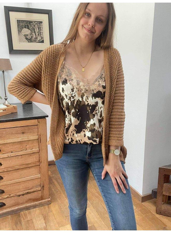 Cardigan Olivia Camel