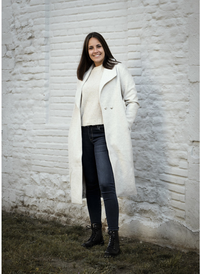 Bonnie Long Coat Light Beige