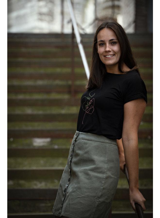 T-shirt Zoe Black