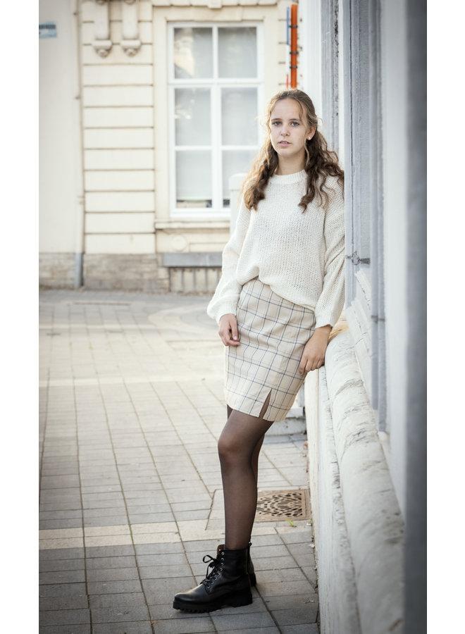 Maja Check Skirt