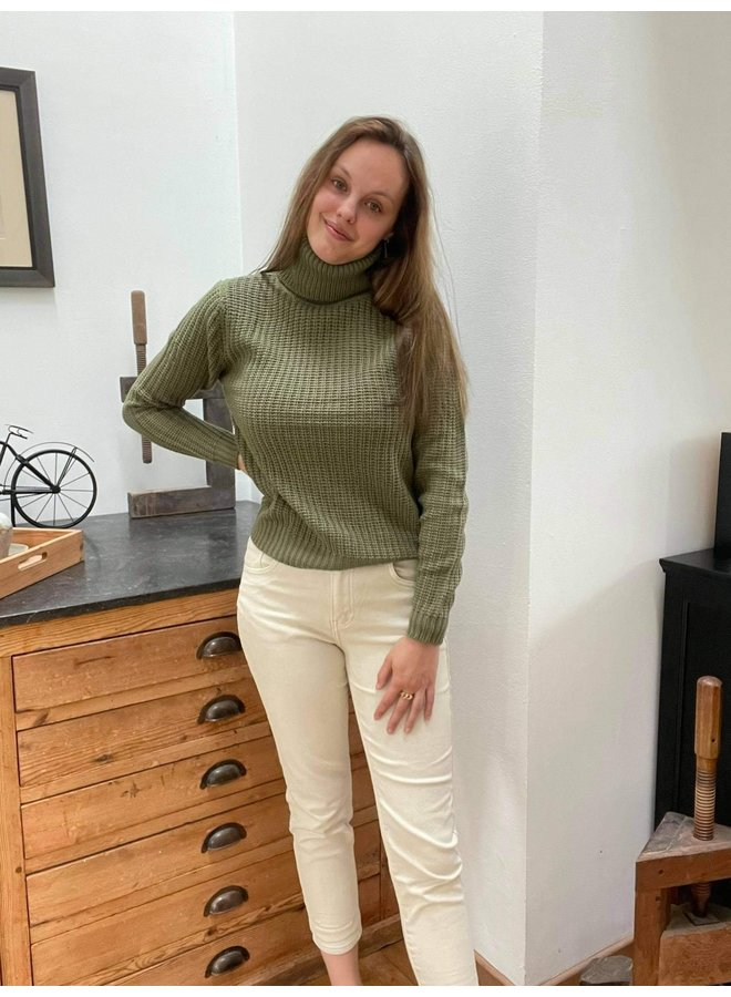 Tinelle Rollneck Knit Green