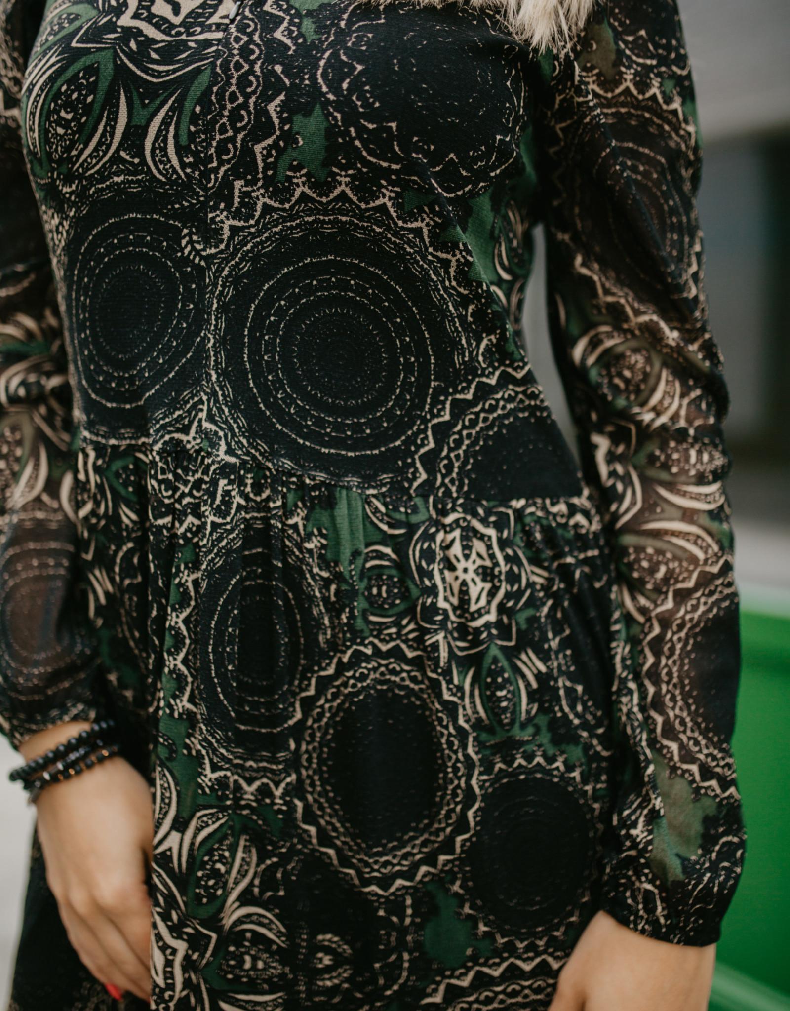 Summum 5s1194 Dress Mesh Paisley