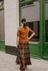 Esqualo F20.14518 Skirt Fern Print