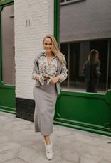 Heart Mind Kora Skirt Grey Melange