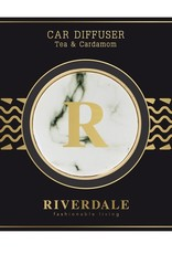 Riverdale Autoparfum wit Tea & Cardamom