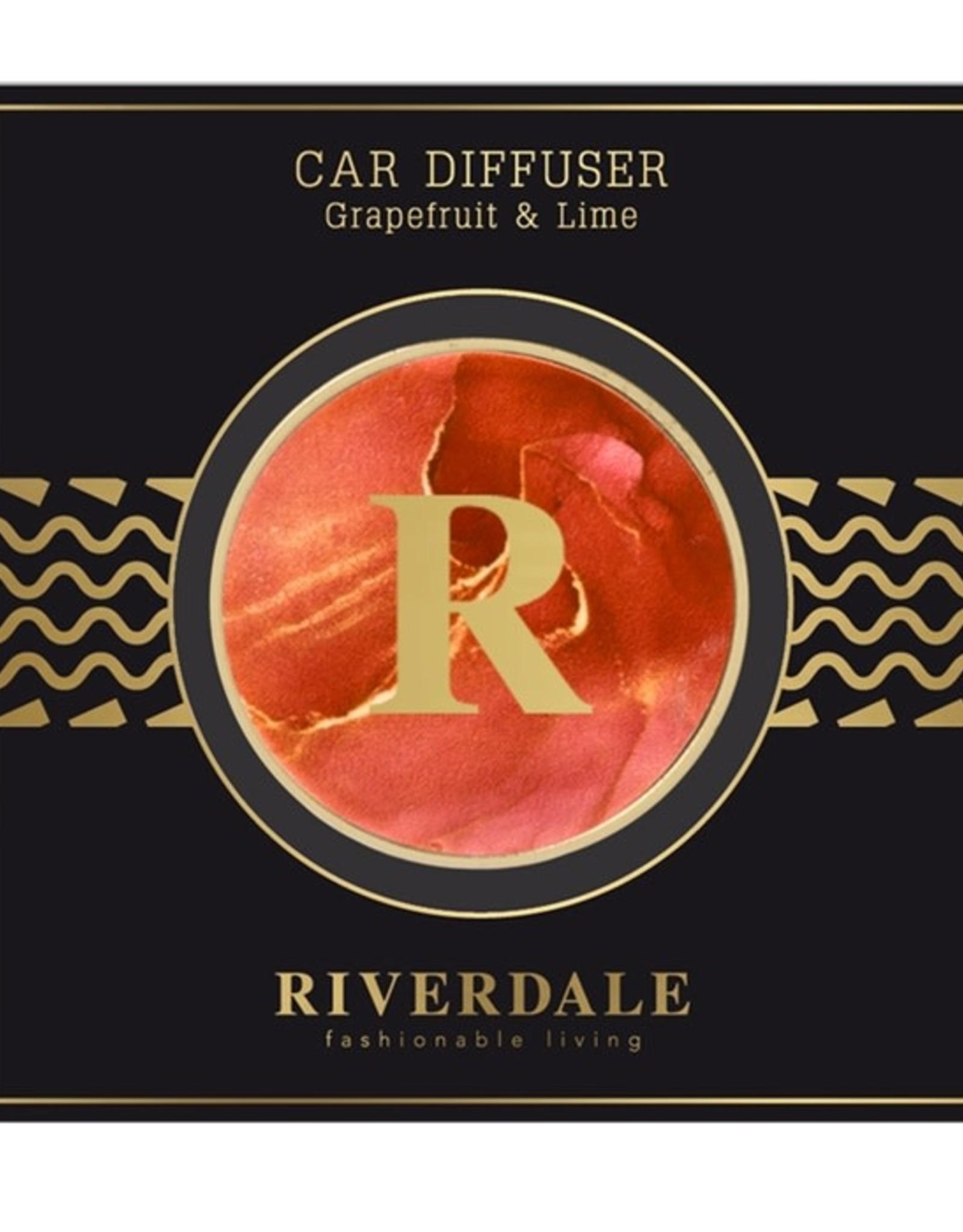 Riverdale Autoparfum Orange Grapefruit & Lime