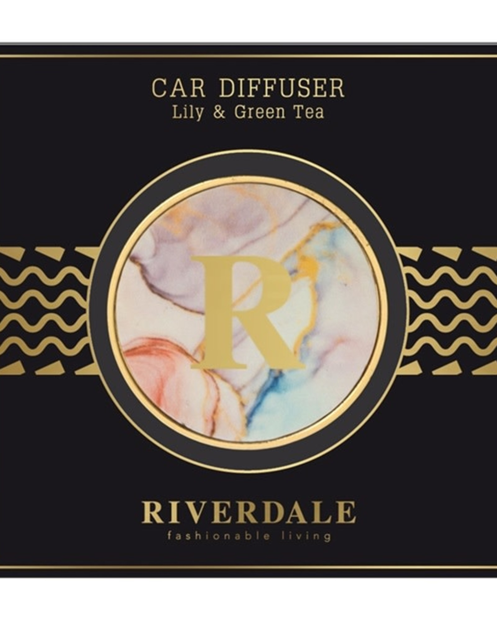 Riverdale Autoparfum Roze Lily & Green Tea
