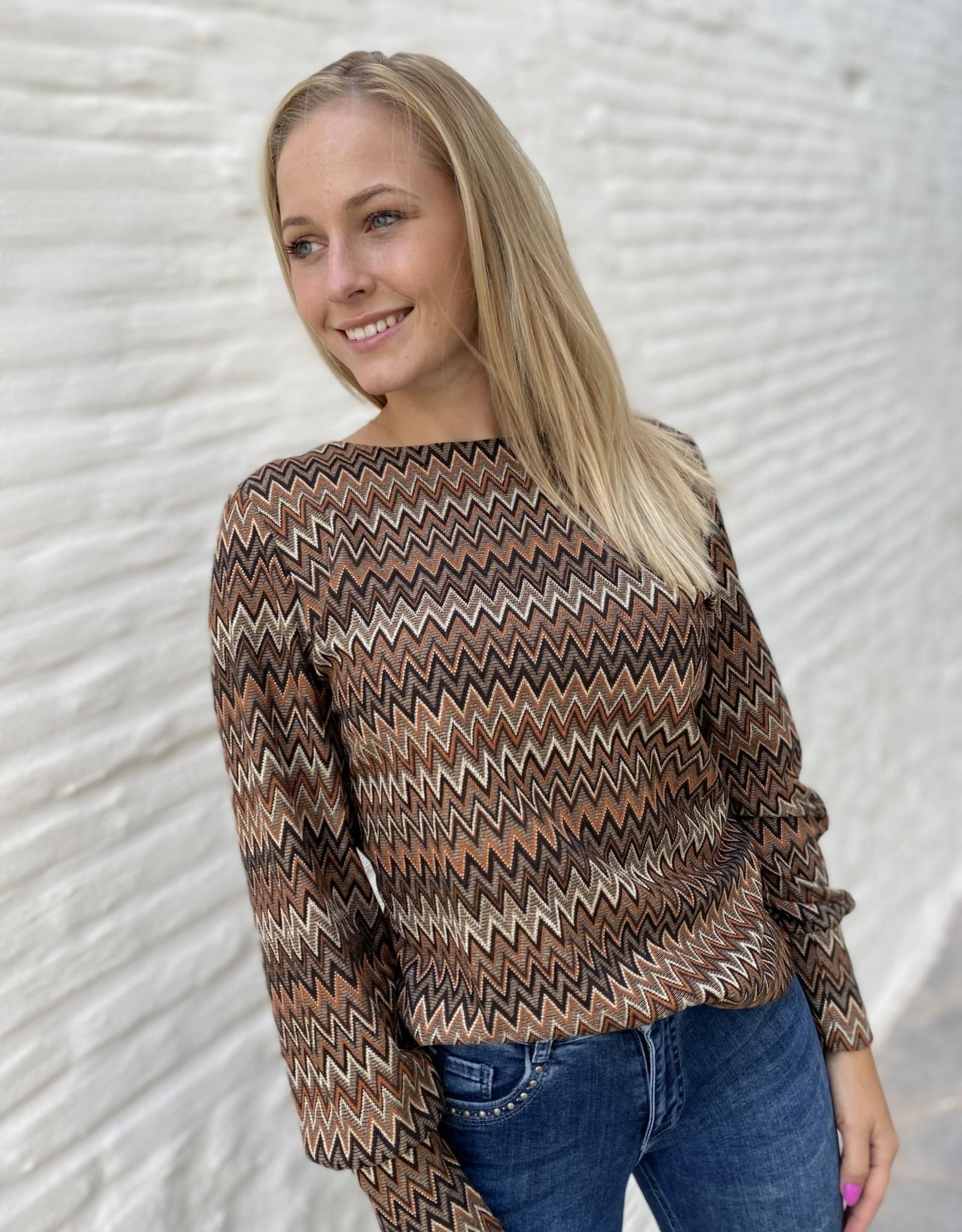 Bianca 56205 Dami T-Shirt Brown Mix