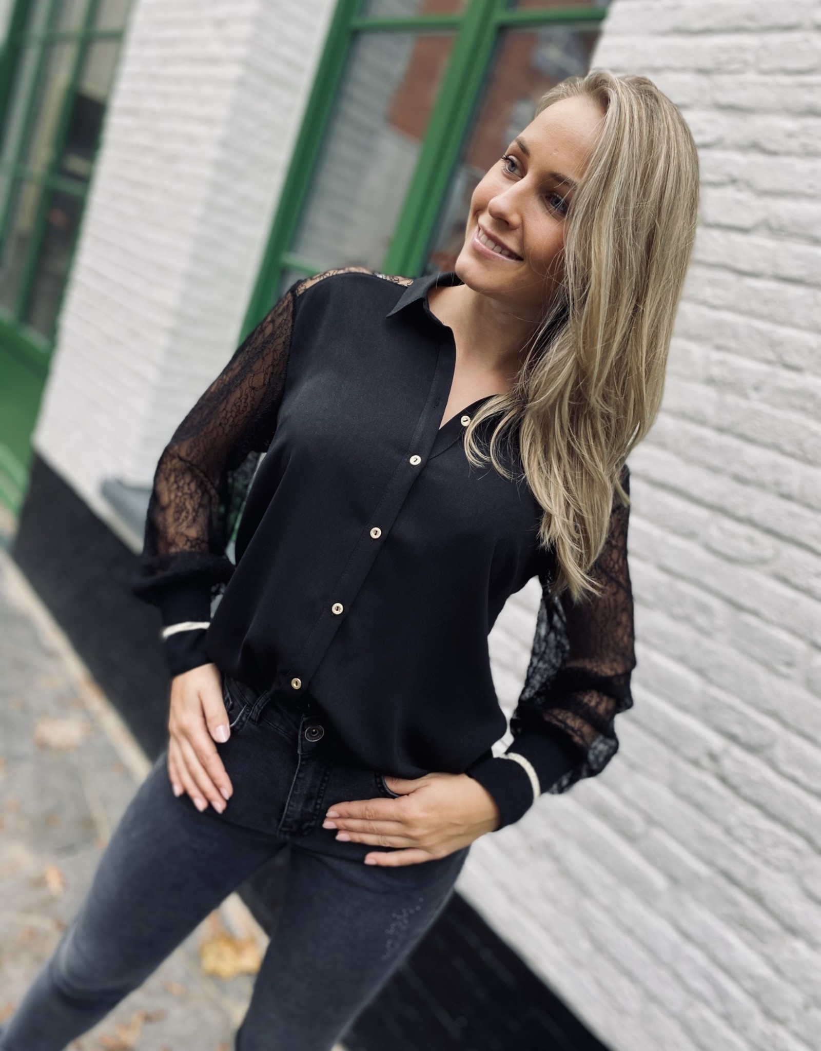 Green Ice Dostra Blouse