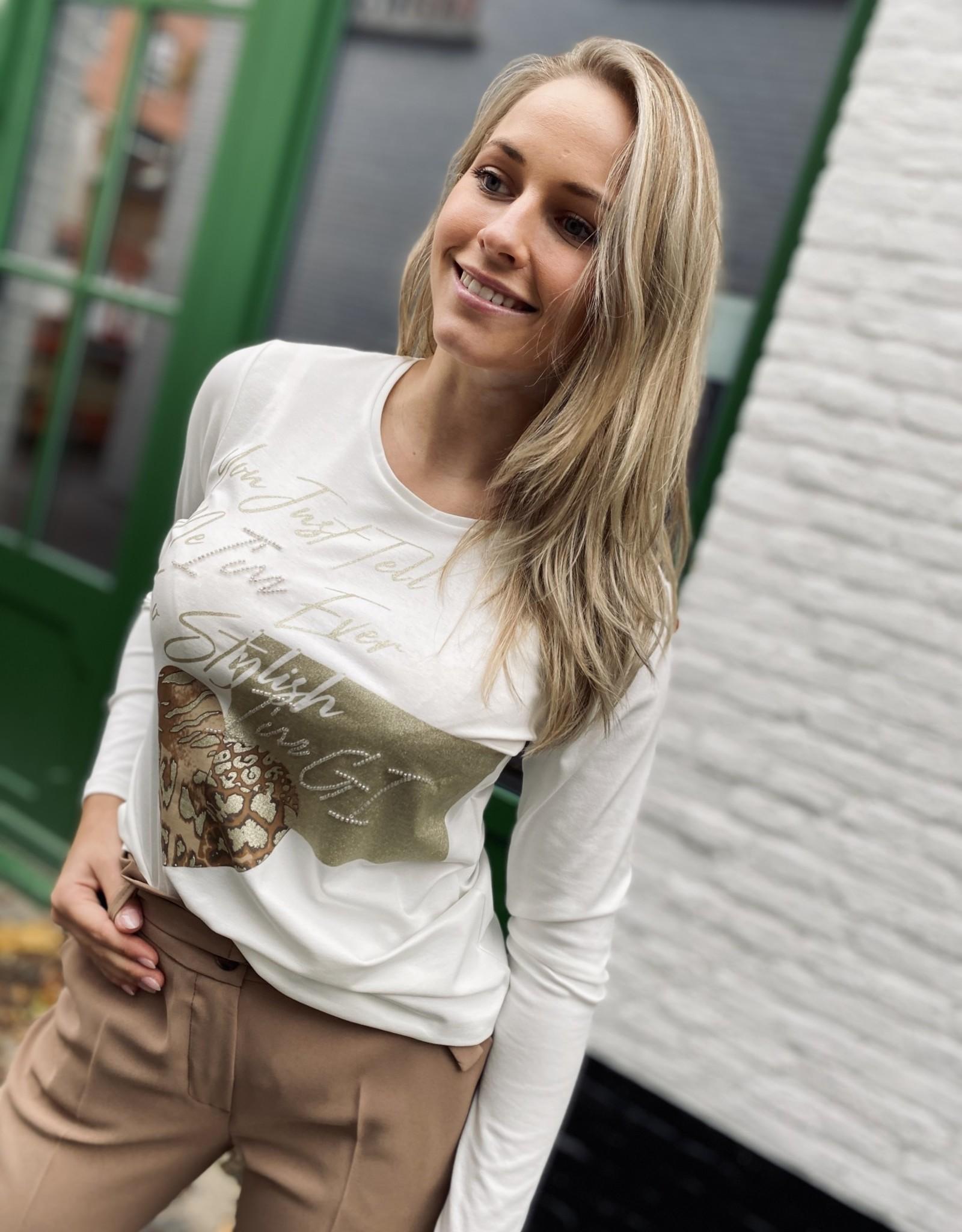 Green Ice Idris T-Shirt Ecru