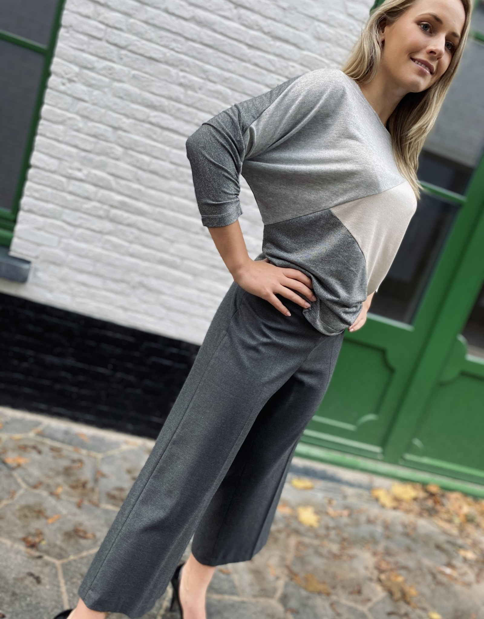 Bianca 50024 Parigi Trouser Anthracite