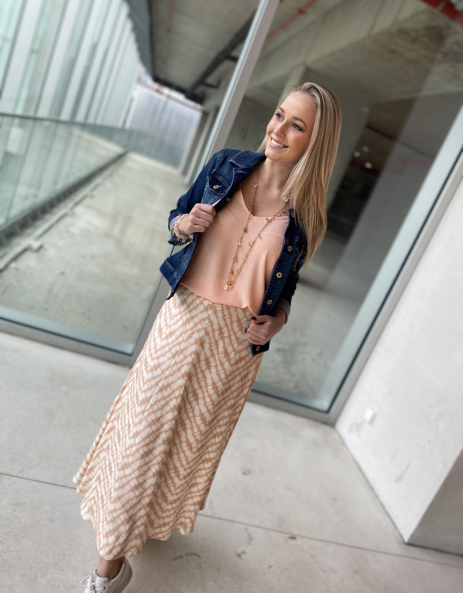Heart Mind Sixt Skirt Tye Dye Pink