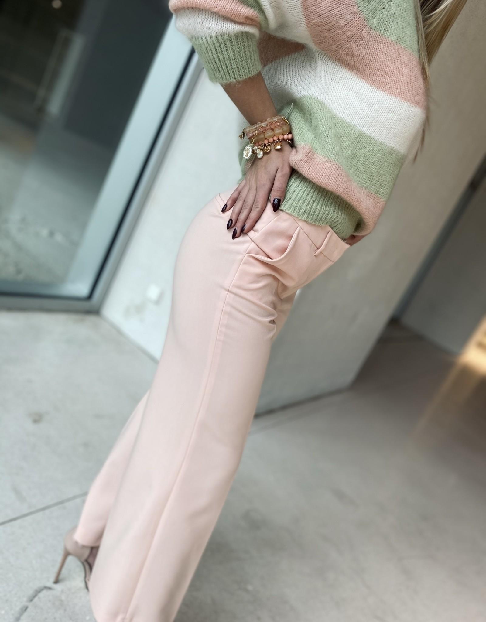 Heart Mind Piper Trouser Twill Pink
