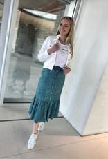 Esqualo SP21.14003 Skirt long Wheat Print