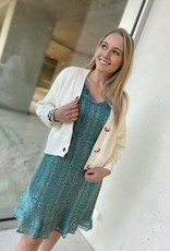 Esqualo SP21.14000 Dress Wheat Print