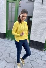 Esqualo SP21.07000 Cardigan Lemon
