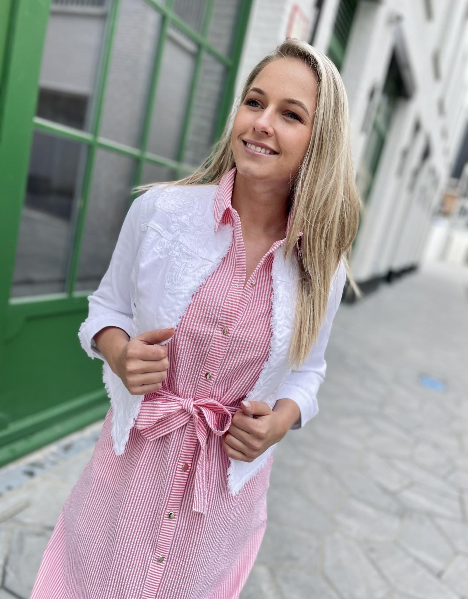 Green Ice Molly Jurk Pink
