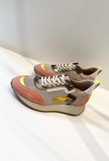 Heart Mind Frida Sneakers Ecru Pink