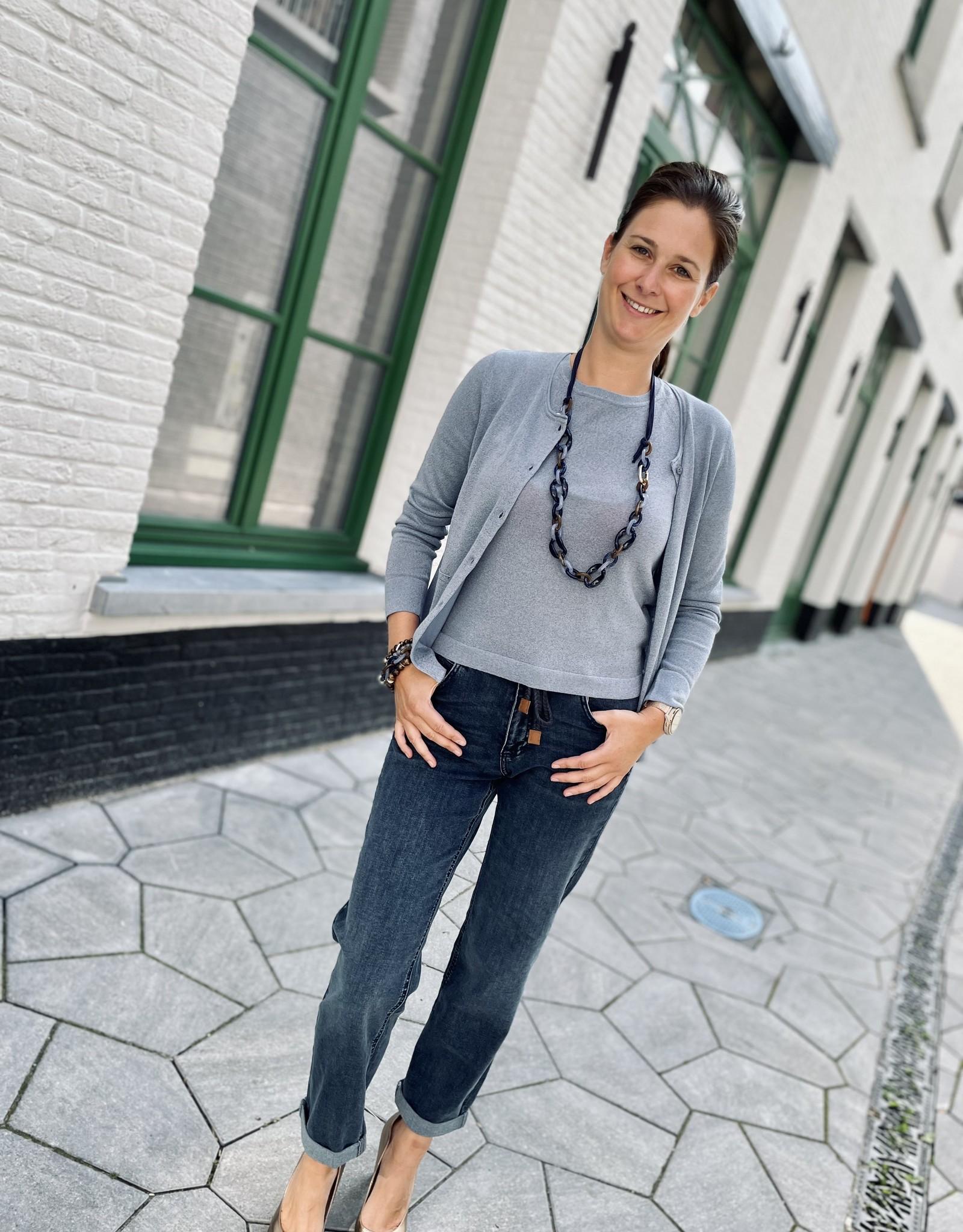Bianca 78001 Rabea Knitwear Dusty Sky