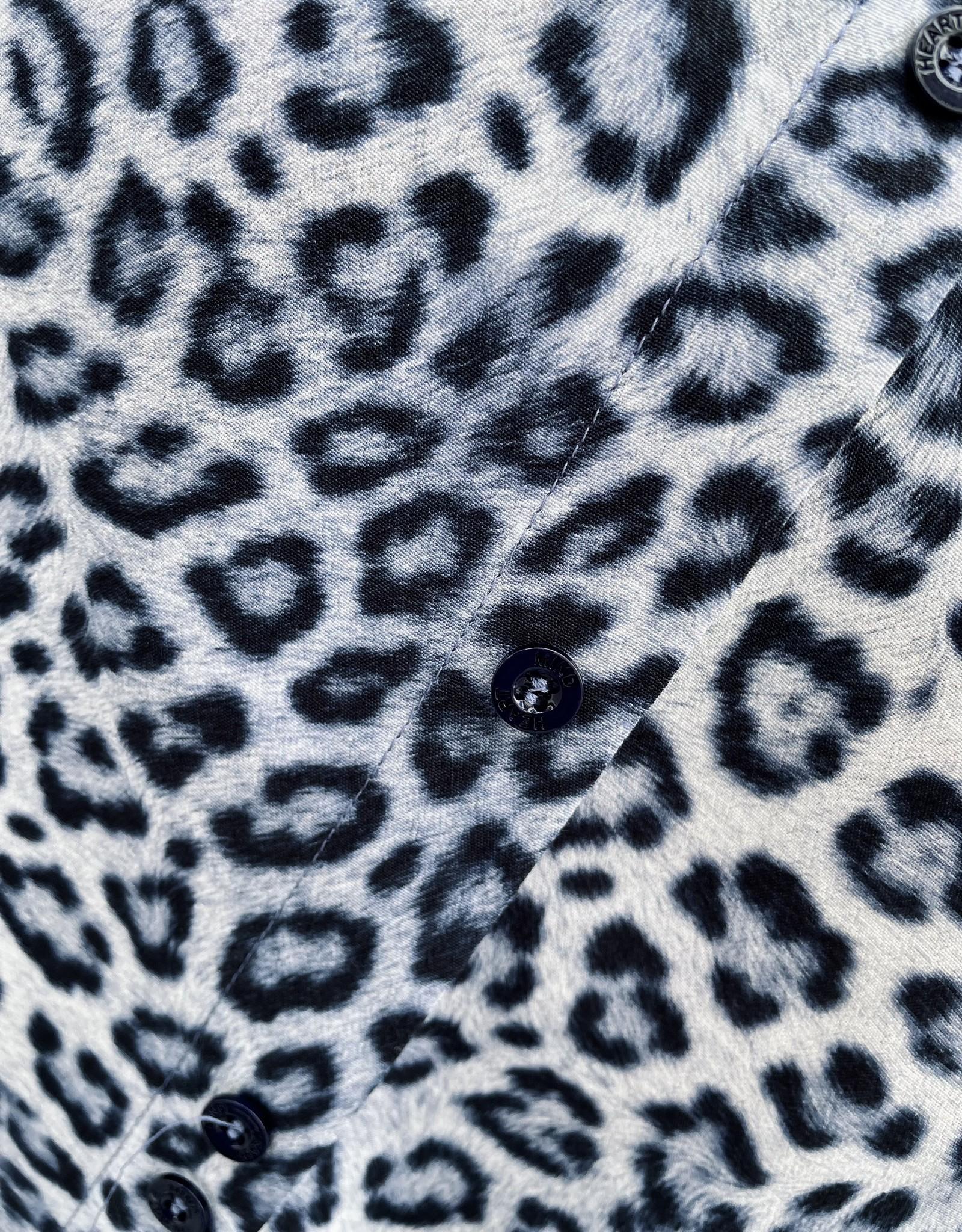 Heart Mind Darla Dress Leopard Blue
