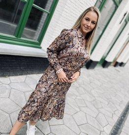 Esqualo F21.14533 Dress Paisley Print