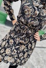 Tramontana C09-02-501 Dress Plissé Flower Print