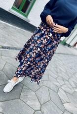 Heart Mind Sixt Skirt Flower Blue