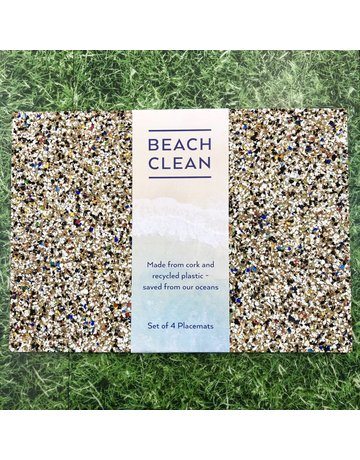 Liga Beach Clean Rectangle Placemat Set