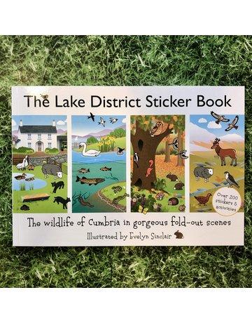 JakeIsland Lake District Sticker Book