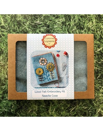 Corinne Lapierre Needle Case Embroidery and Felt Kit