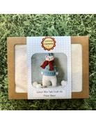 Corinne Lapierre Mini Polar Bear Felt Kit