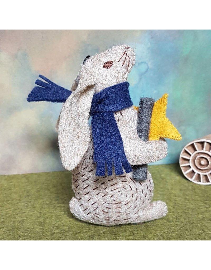 Corinne Lapierre Mini Stargazing Hare Felt Kit