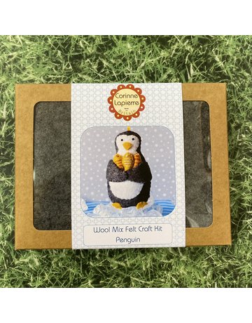Corinne Lapierre Mini Penguin Felt Kit