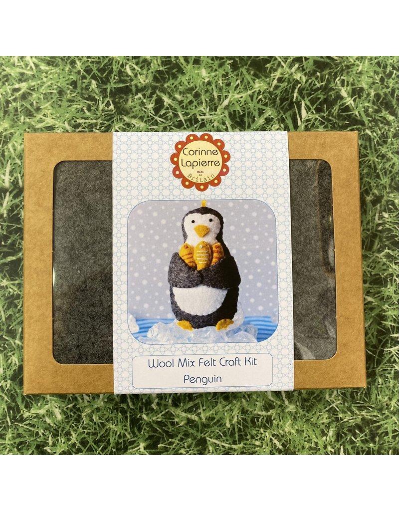 Corinne Lapierre Mini Penguin Felt Kit
