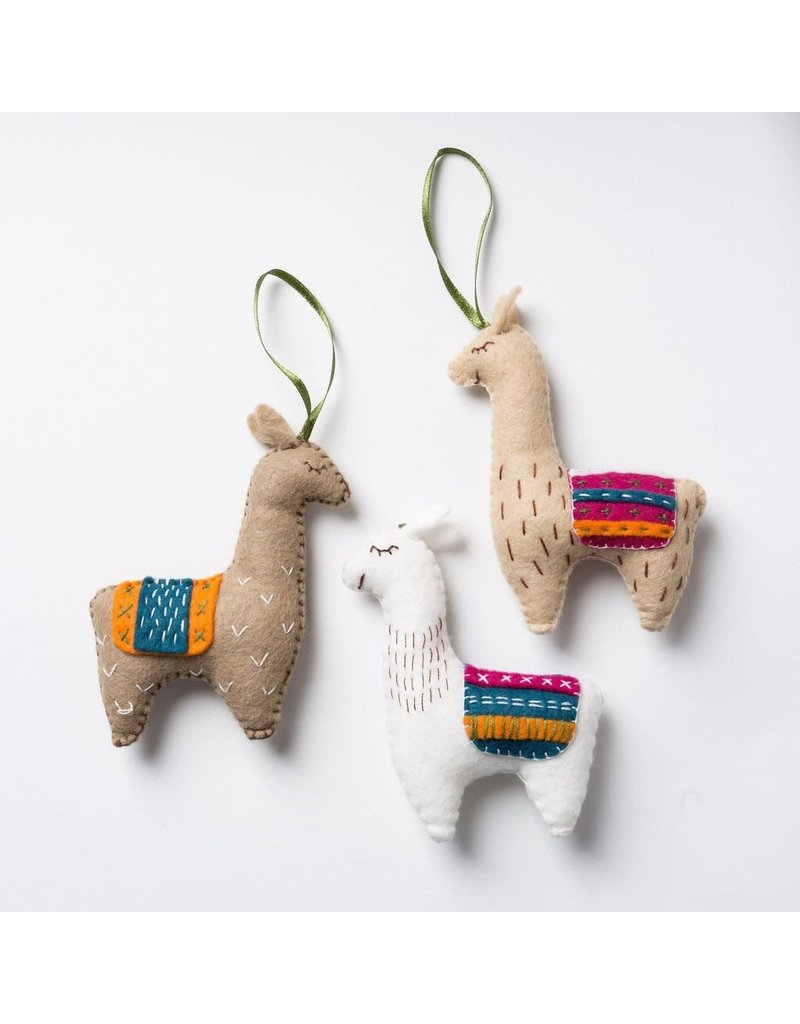 Corinne Lapierre Llamas Felt Kit