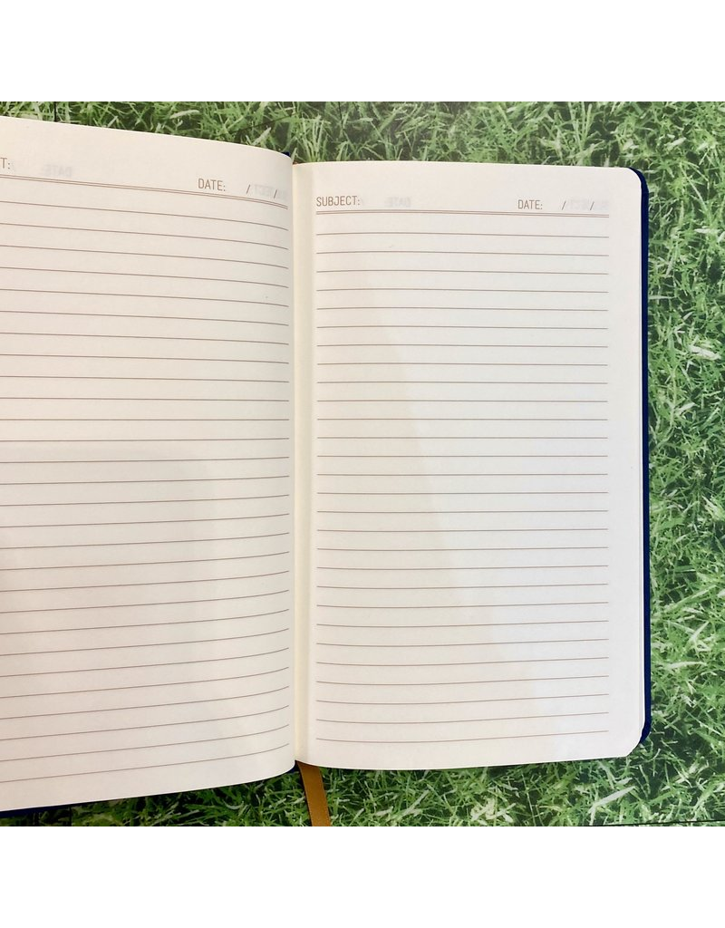 Eclectic Life Written In The Stars Blue Cloth Notebook